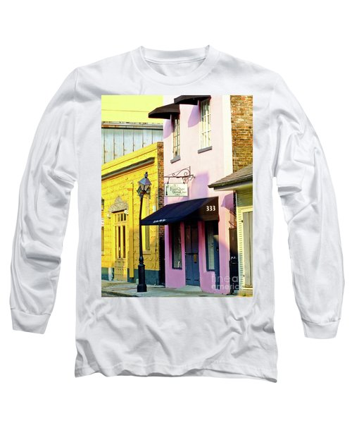 The French Quarter Wedding Chapel Long Sleeve T-Shirt