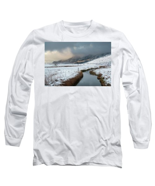 The Front Long Sleeve T-Shirt by Scott Warner