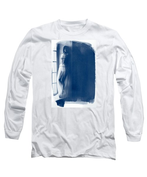 The Girl At The Window. Long Sleeve T-Shirt by Andrey  Godyaykin