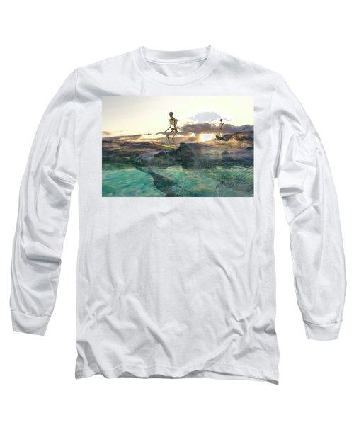 The Glass Ocean Long Sleeve T-Shirt
