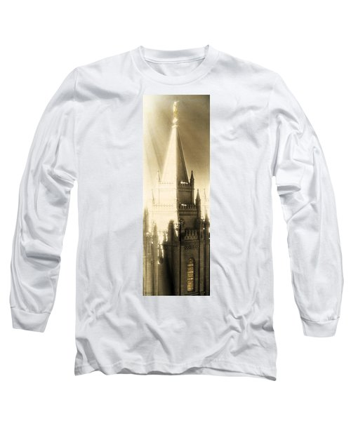 Long Sleeve T-Shirt featuring the photograph The Glory Of The Lord Shone Round About by Greg Collins