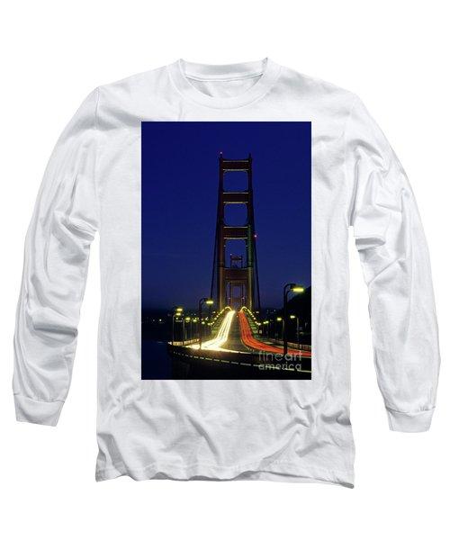 The Golden Gate Bridge Twilight Long Sleeve T-Shirt