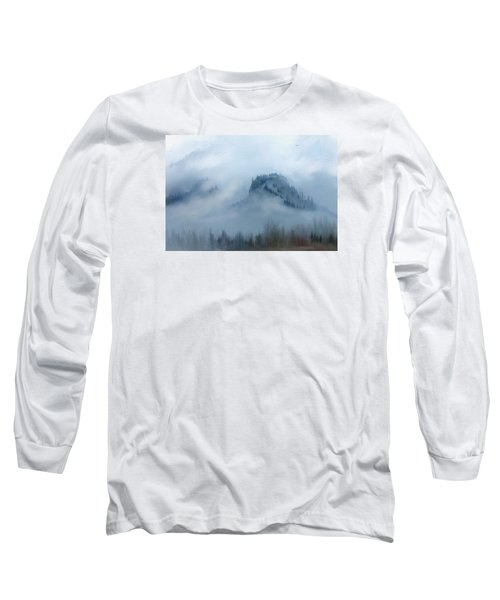 The Gorge In The Fog Long Sleeve T-Shirt