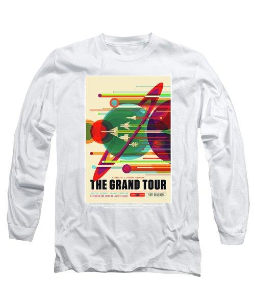 The Grand Tour - Nasa Vintage Poster Long Sleeve T-Shirt
