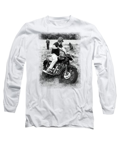 The Great Escape Long Sleeve T-Shirt by Mark Rogan