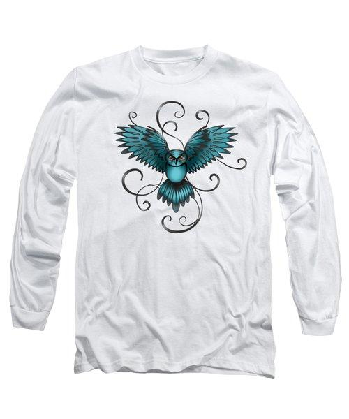 The Great Night Owl Of Kilmartin Long Sleeve T-Shirt
