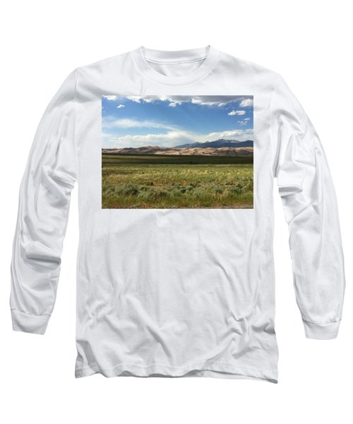 The Great Sand Dunes Long Sleeve T-Shirt by Christin Brodie