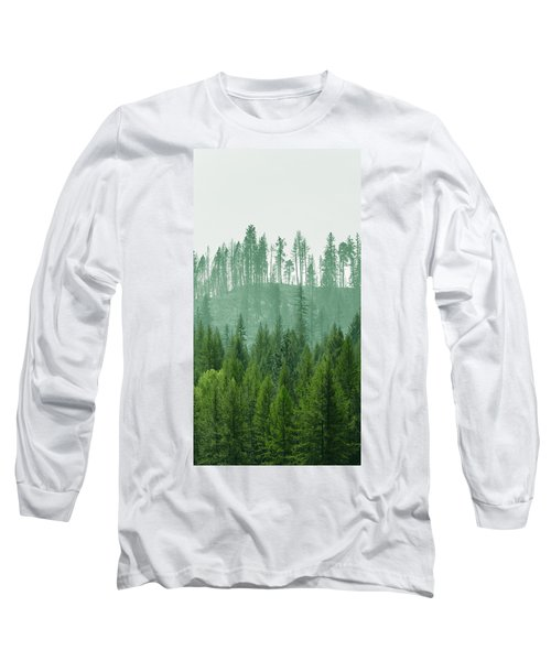 The Green And The Not So Green Long Sleeve T-Shirt