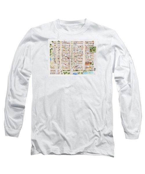 The Harlem Map Long Sleeve T-Shirt by AFineLyne