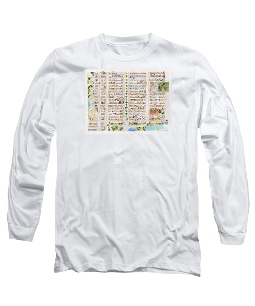 The Harlem Map Long Sleeve T-Shirt