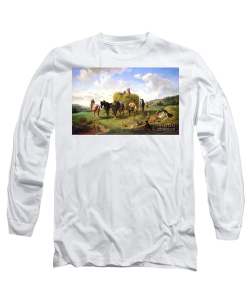 The Hay Harvest Long Sleeve T-Shirt