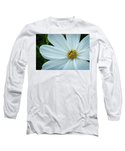 The Heart Of The Daisy Long Sleeve T-Shirt by Monte Stevens