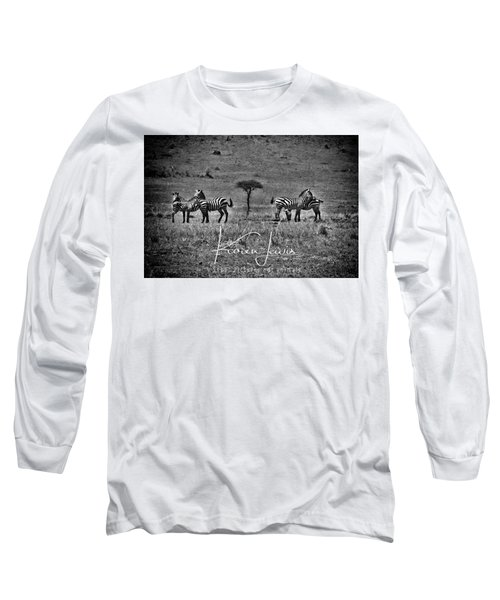 Long Sleeve T-Shirt featuring the photograph The Herd by Karen Lewis