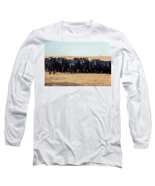 The Herd Rushes In Long Sleeve T-Shirt