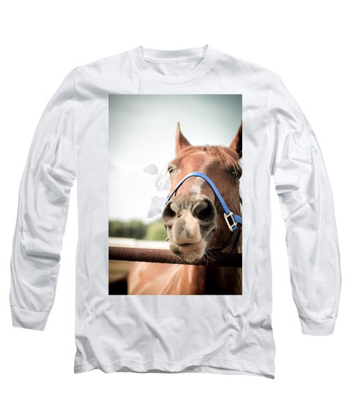 The Horse's Mouth Long Sleeve T-Shirt