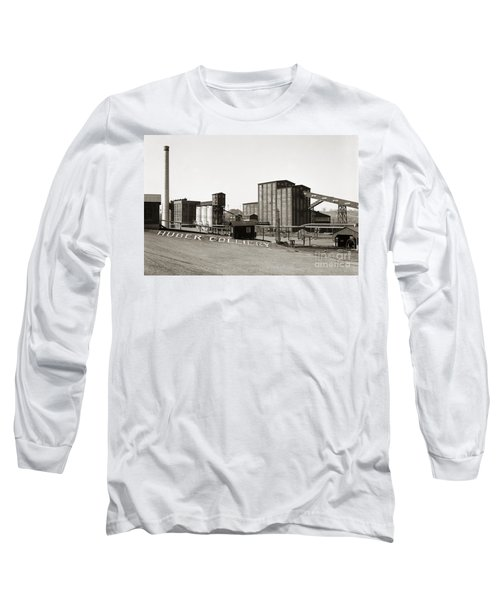 The Huber Colliery Ashley Pennsylvania 1953 Long Sleeve T-Shirt