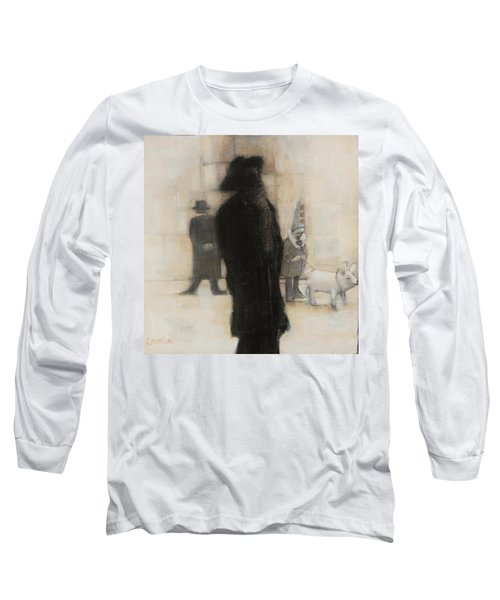 The Incongruity Of It All  Long Sleeve T-Shirt by Jean Cormier