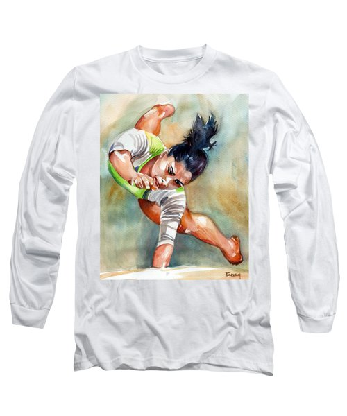 The Indian Gymnast Long Sleeve T-Shirt