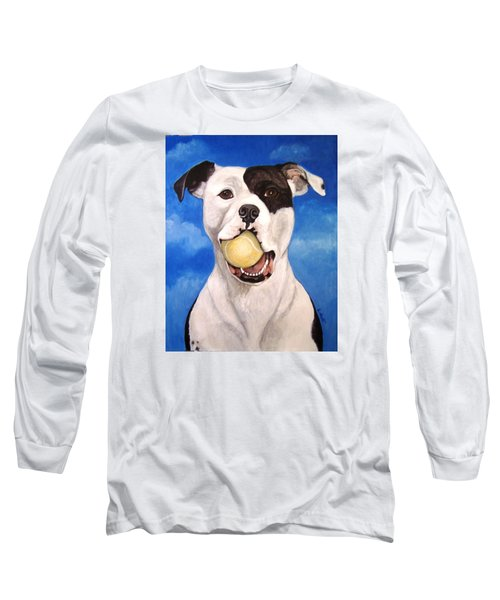 Long Sleeve T-Shirt featuring the painting The Invitation by Laura Aceto