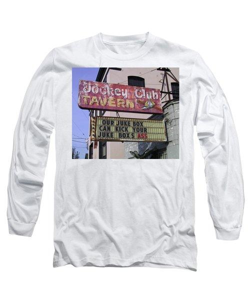 The Jockey Club Long Sleeve T-Shirt