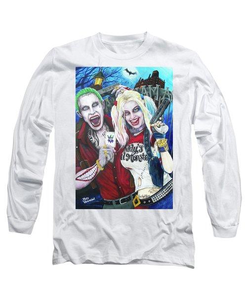 The Joker And Harley Quinn Long Sleeve T-Shirt