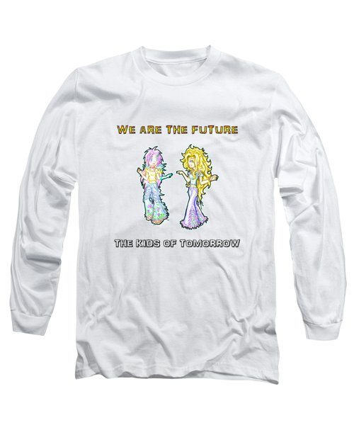The Kids Of Tomorrow Ariel And Darla Long Sleeve T-Shirt