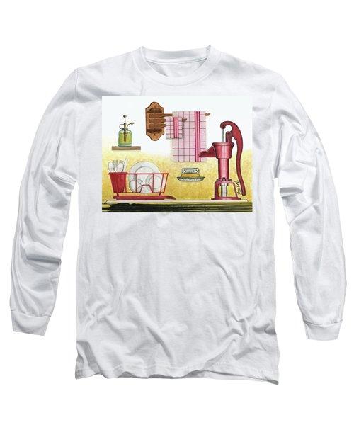 The Kitchen Sink Long Sleeve T-Shirt