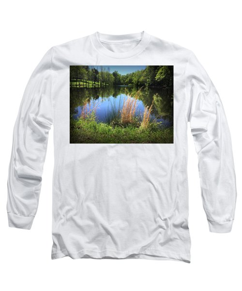The Lake At Musgrove Mill Long Sleeve T-Shirt