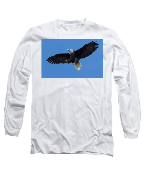 The Landing Long Sleeve T-Shirt by Sheldon Bilsker