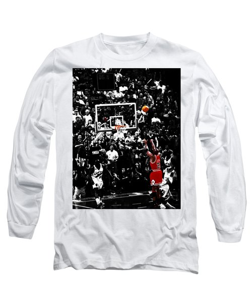 The Last Shot 23 Long Sleeve T-Shirt by Brian Reaves