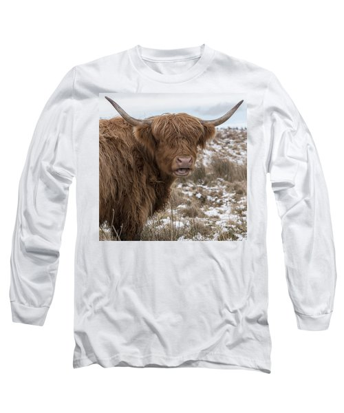 The Laughing Cow, Scottish Version Long Sleeve T-Shirt by Jeremy Lavender Photography