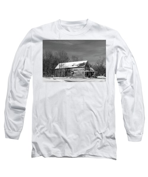 The Layton Country Store Long Sleeve T-Shirt by Nicki McManus