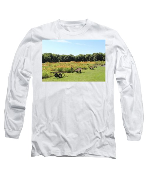 The Lilies Of The Fields Long Sleeve T-Shirt