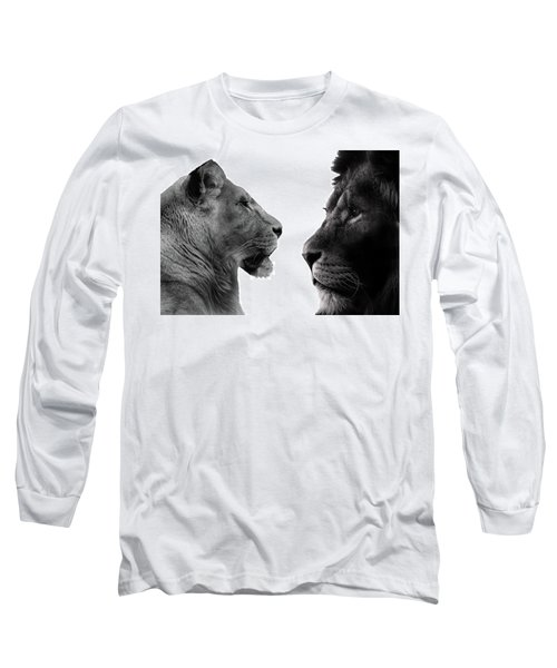 The Lioness And Lion Long Sleeve T-Shirt