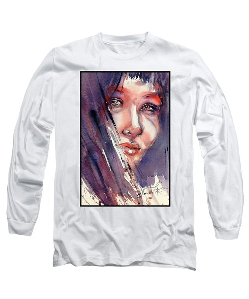 The Look Long Sleeve T-Shirt by Judith Levins