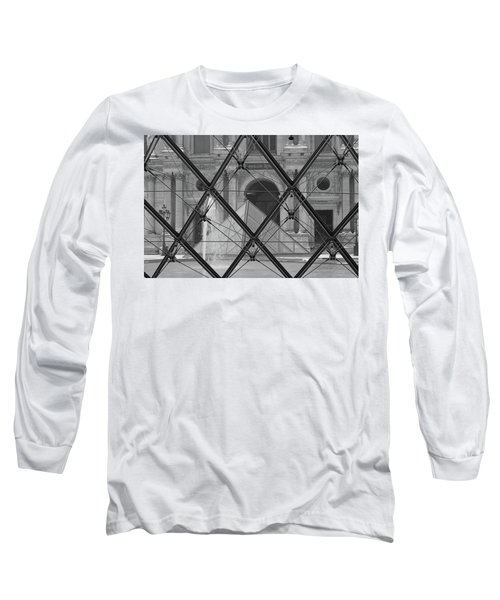 The Louvre From The Inside Long Sleeve T-Shirt