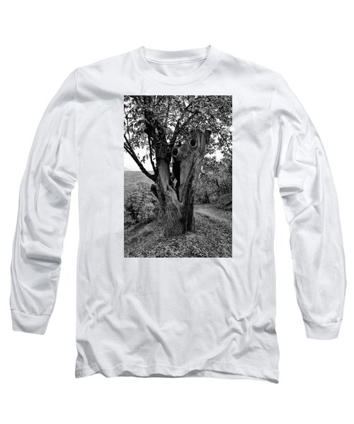 The Maltreated One Long Sleeve T-Shirt by Goyo Ambrosio