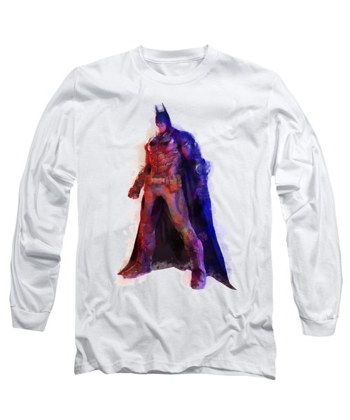 The Man With A Cape Long Sleeve T-Shirt