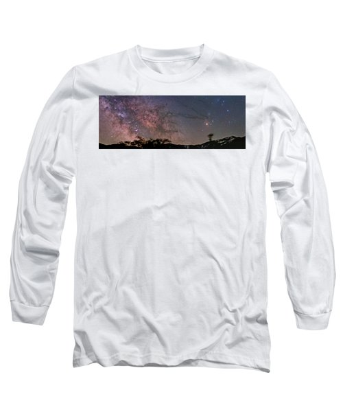 The Milky Way Core Long Sleeve T-Shirt