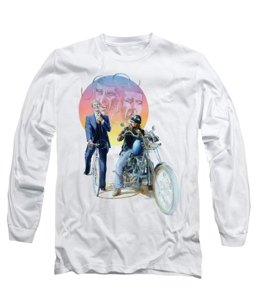 The Missionary And The Angel Long Sleeve T-Shirt
