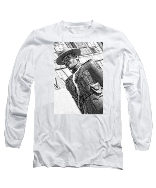 The Mountie Long Sleeve T-Shirt by Bob Pardue