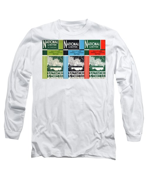 The National Limited Collage Long Sleeve T-Shirt
