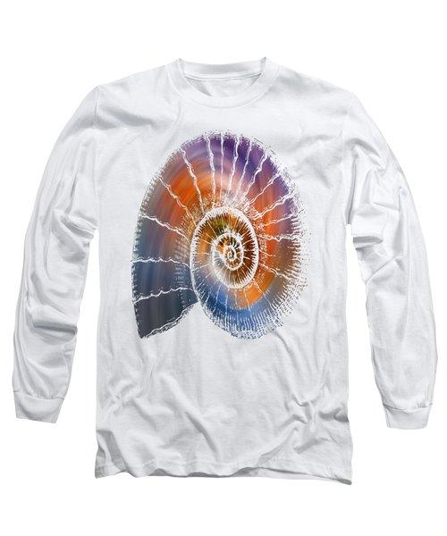 The Nautilus Shell  Transparent Long Sleeve T-Shirt