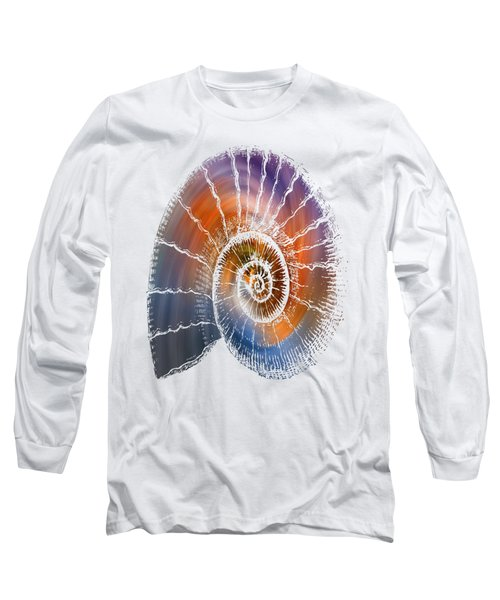 The Nautilus Shell  Transparent Long Sleeve T-Shirt