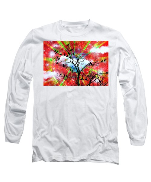 The New Awakens Perplexity And Resistance Long Sleeve T-Shirt by Paulo Zerbato
