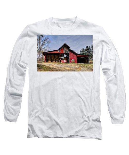 The New Barn Long Sleeve T-Shirt by Paul Mashburn