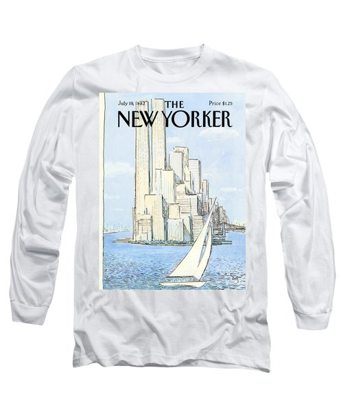 The New Yorker Cover - July 19th, 1982 Long Sleeve T-Shirt
