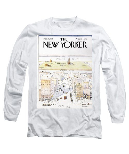 View From 9th Avenue Long Sleeve T-Shirt