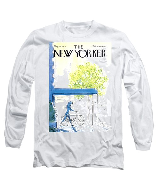 The New Yorker Cover - May 26th, 1973 Long Sleeve T-Shirt