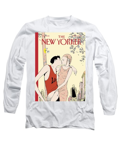 The New Yorker Cover - May 6th, 2002 Long Sleeve T-Shirt